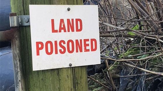 Land Poisoned