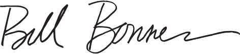 Bill Bonner Signature